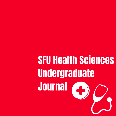 SFU Health Sciences Undergraduate Journal with two digital icons