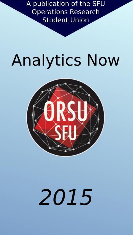 View Analytics Now 2015 Edition